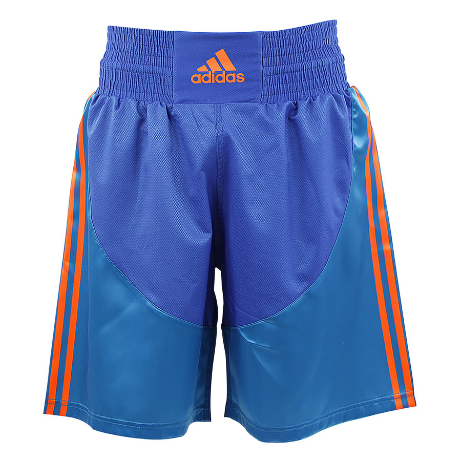 Adidas Multi Boxing Shorts Blue Red