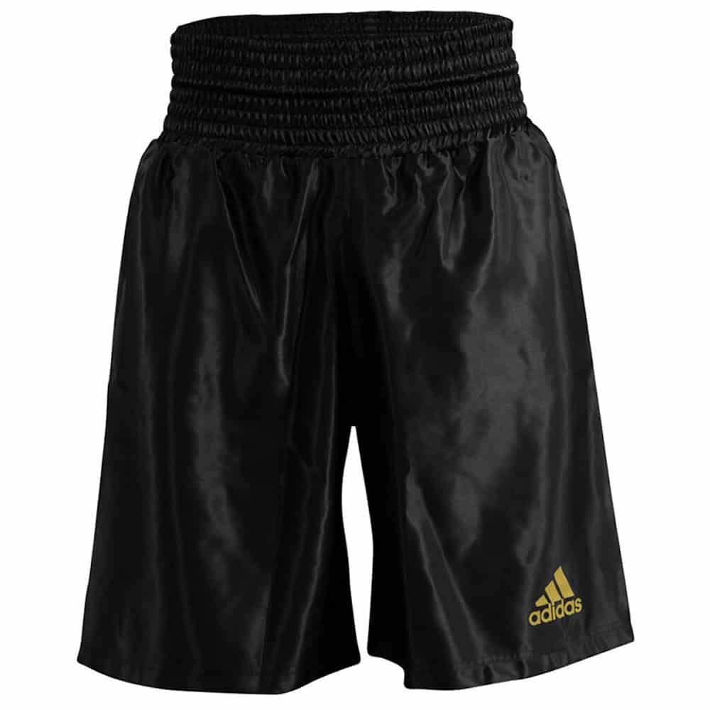 Adidas Multi Boxing Shorts Satin Black