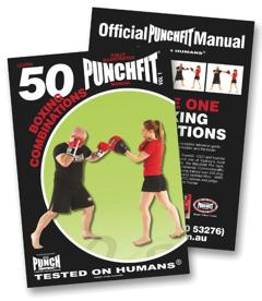 Punch Punchfit 50 Boxing Combos Book