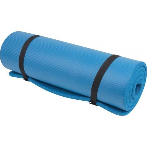 NBR Workout Mat 15mm Blue