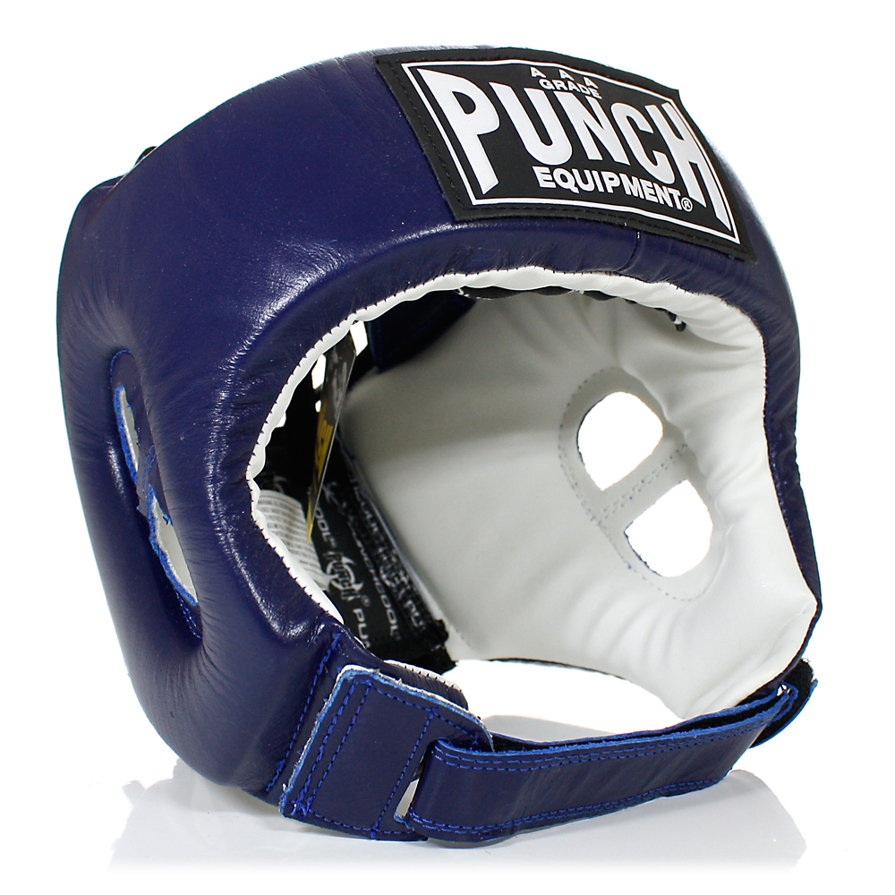 Punch Open Face Head Gear