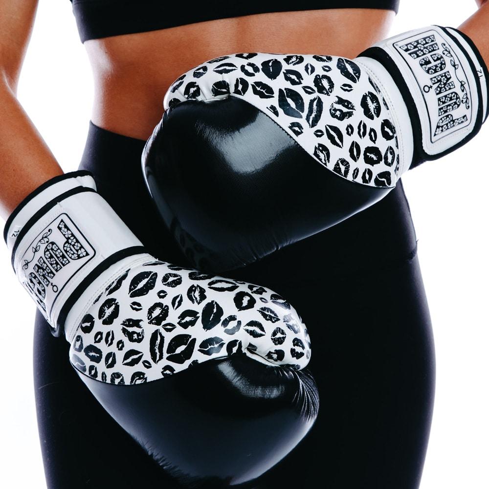 Punch Womens Boxing Gloves Lip Art