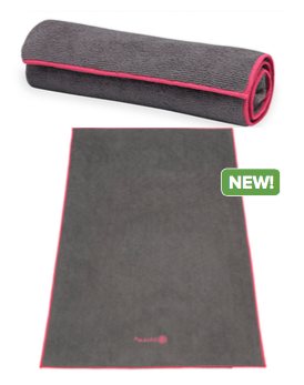 Gaiam Fuschia Yoga Hand Towel