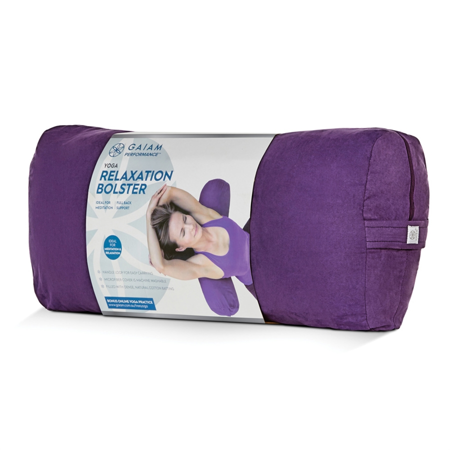 Gaiam Performance Rectangular Bolster