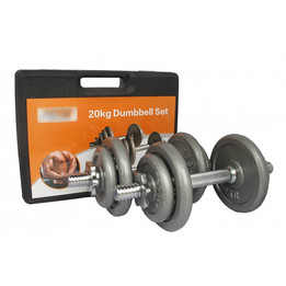 20kg Dumbbell Set **Available IN-STORE ONLY**