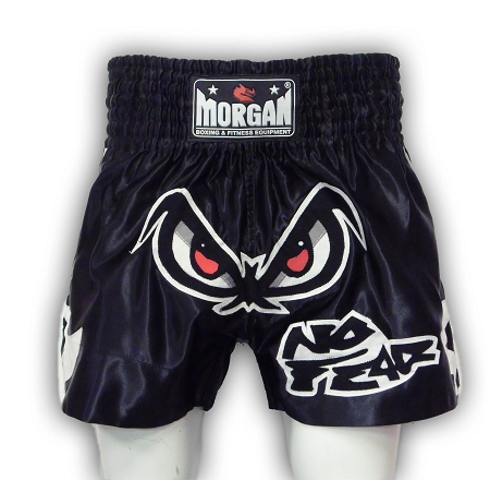 Morgan Fearless Muay Thai Shorts Black