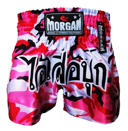 Morgan Pink Diabla Muay Thai Shorts