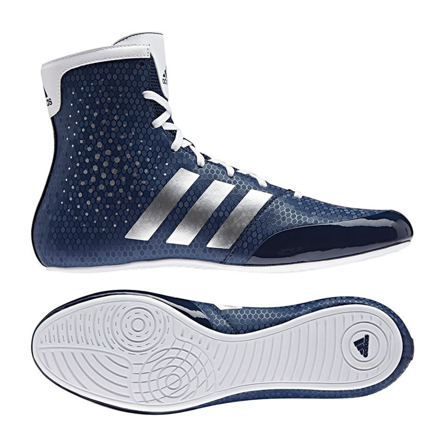 Adidas Ultimate KO Olympics Legend Boxing Boots White Red Be the first to review this product